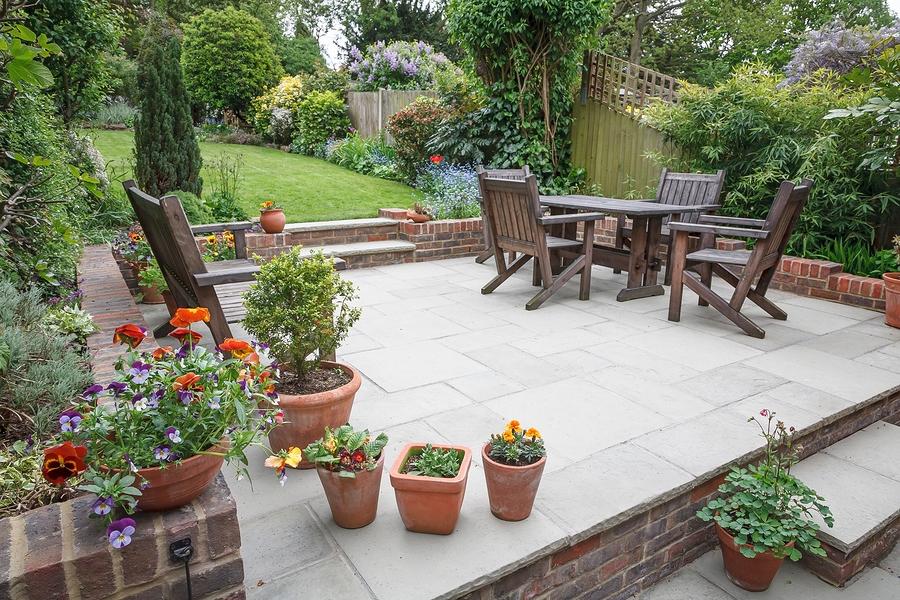 landscape in the garden